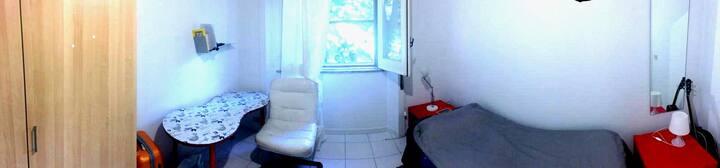 Quiet single room at Trieste/Salario area in Rome
