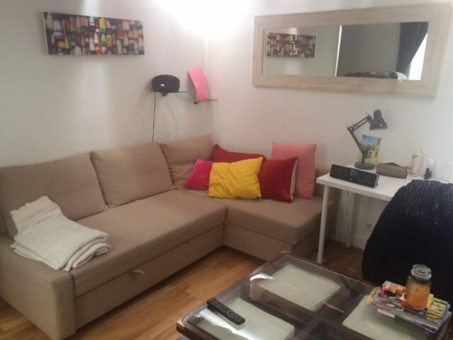 Parfait petit studio au charme parisien - Paris - Apartemen