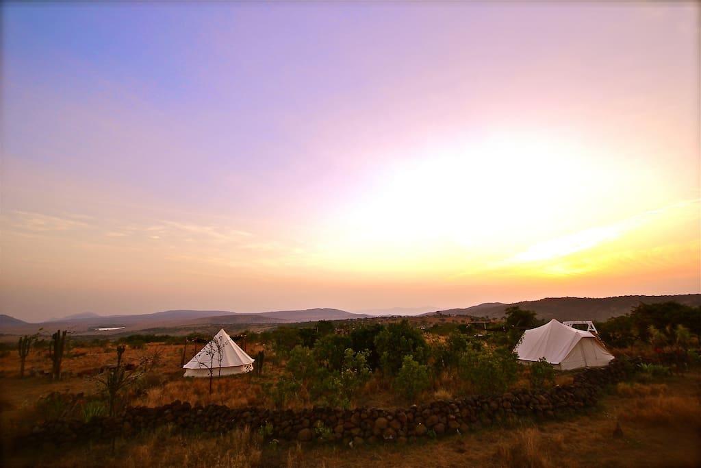 Knock-out sunrises over northern Kenya