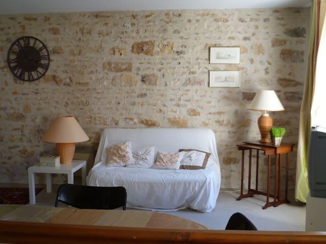 Studio dans village de la forêt de Fontainebleau - Recloses - Apartmen