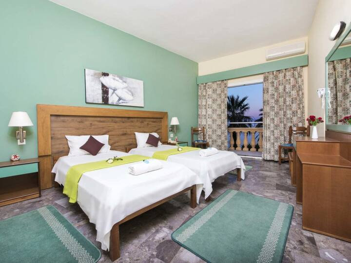 Double room, Potamaki Beach Hotel by the Sea