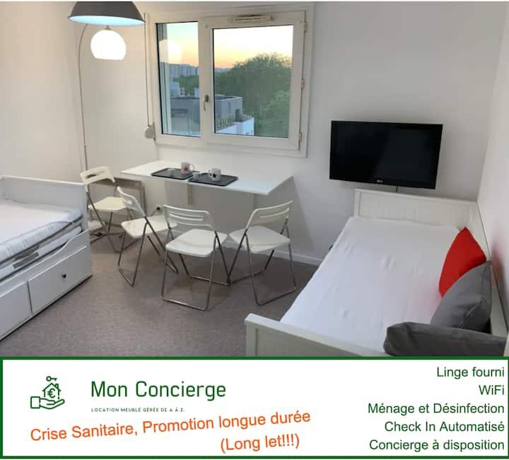Appartement Lyon secteur La Doua