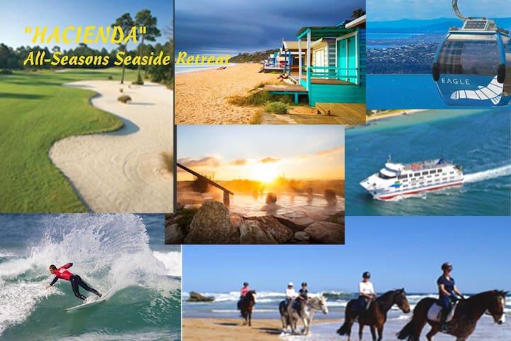BEACH - HOT SPRINGS - ARTHURS SEAT- GOLF COURSES – LIFESTYLE