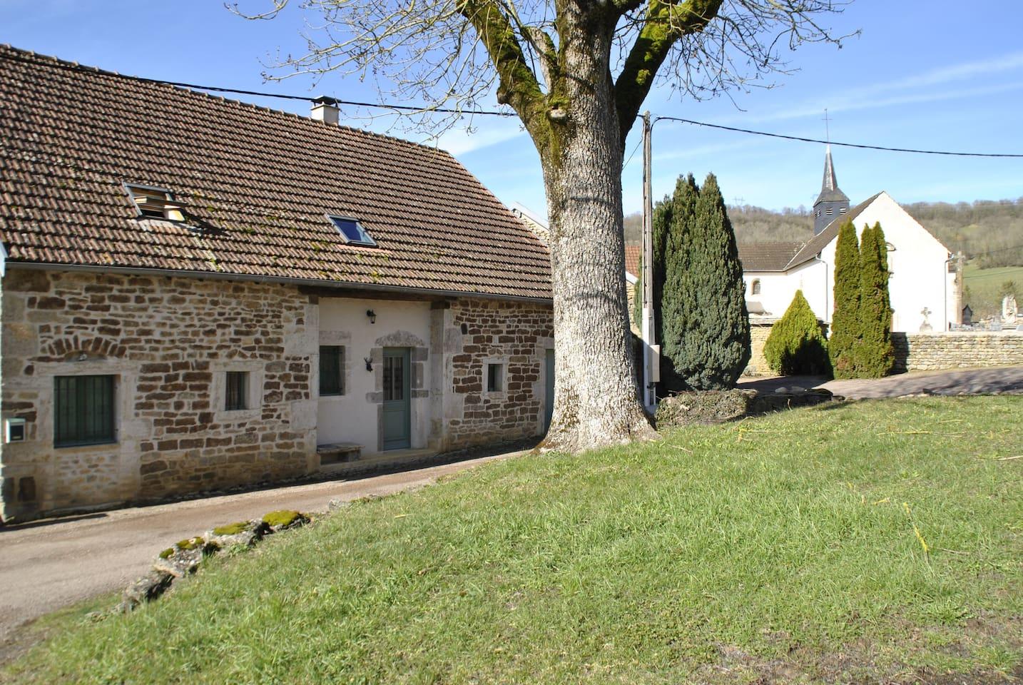 Ons vakantiehuis in Cessey, een kleine hameau van Vitteaux