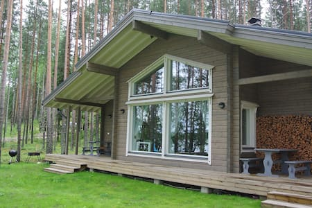 Lakeside wooden house - Savonlinna - Hus