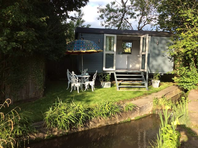 The Hut by the stream