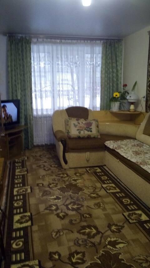 Уютная квартира в сердце Уральских гор.