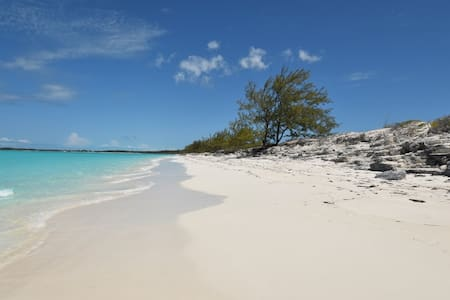Exuma beach front 3 bed 3.5 bath Tar Bay 4.1 acres - House