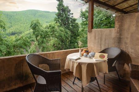 如歌的行板 ҈莫干山清新山景「浴缸露台大床房」