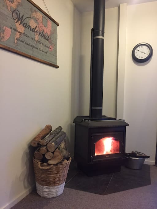 Warm cosy fire for those winter nights