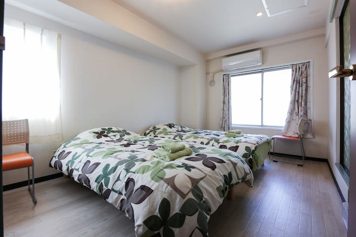 8min to Ikebukuro and free WIFI! - Kita - Apartamento