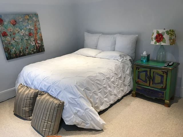 Lovely Private Room  38 min from Manhattan - New Rochelle - บ้าน