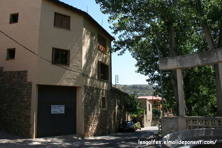Apartments near great climbing sites in El Montsec - Alòs de Balaguer - Wohnung