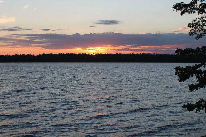 Sunset on Lake Kagawong
