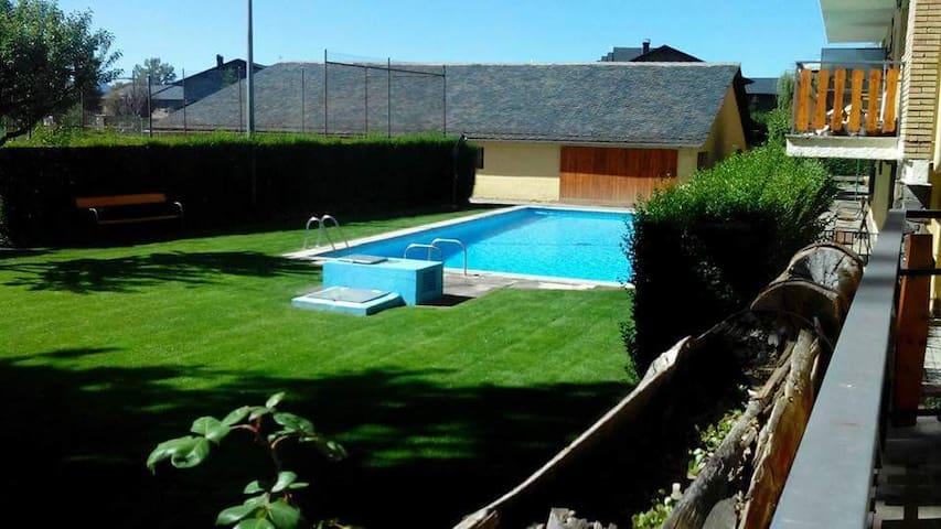 Planta baja soleada y acogedora - Llívia - Apartament