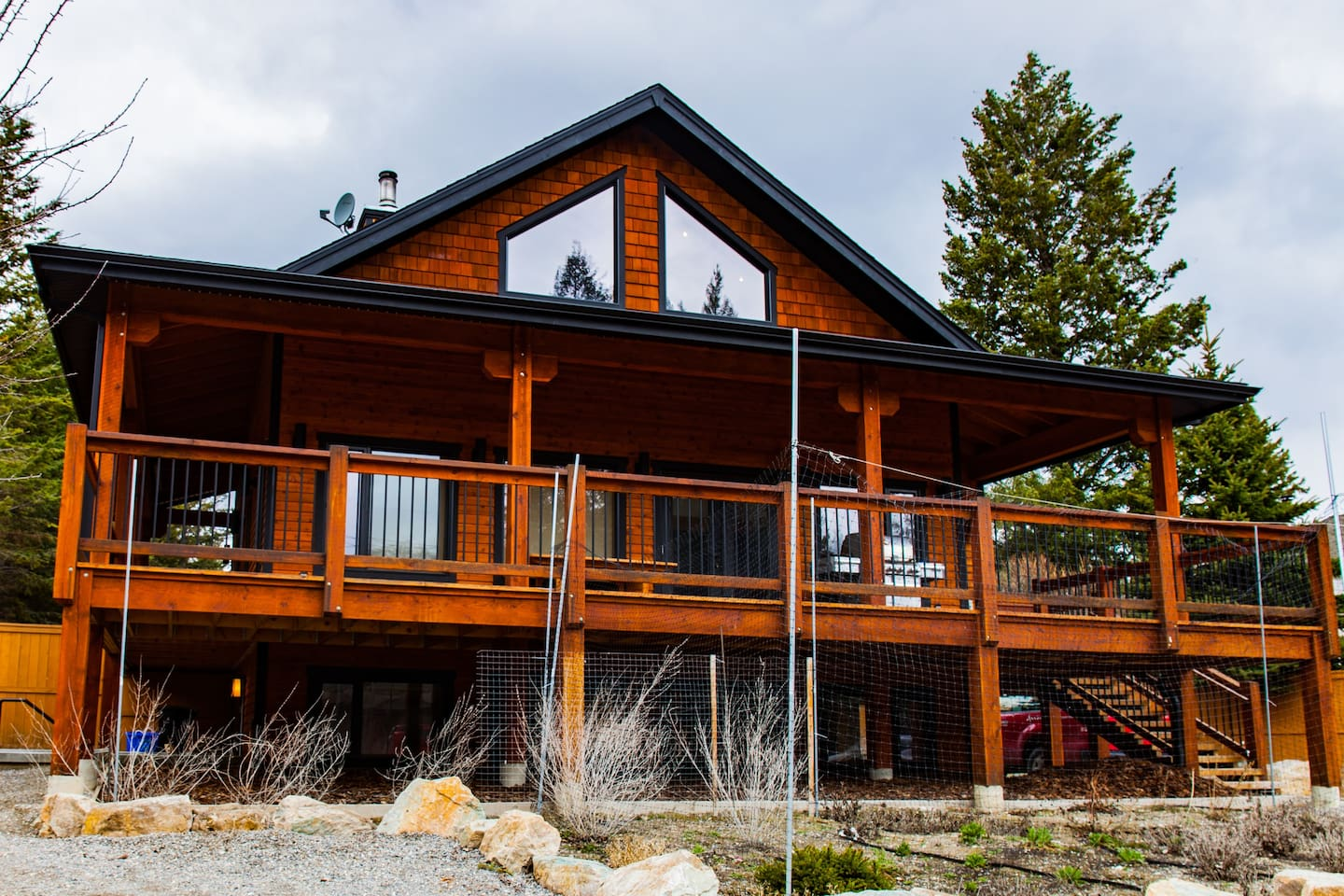 Street view of our home in Invermere