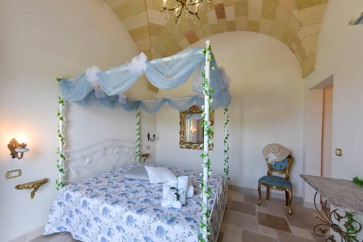 Castello Salentino / Camera Azzurro Taco Matrimon.