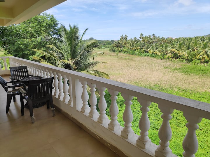 3 BHK Apartment with pool in Goa