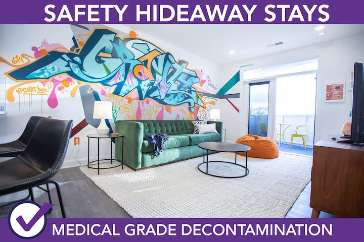 Safety Hideaway - Medical Grade Clean Home 93