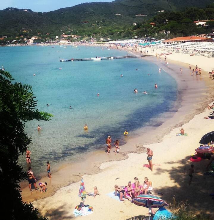 Appartamento in campagna vicino spiaggia Procchio.
