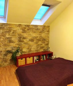 Spacious room in shared apartment