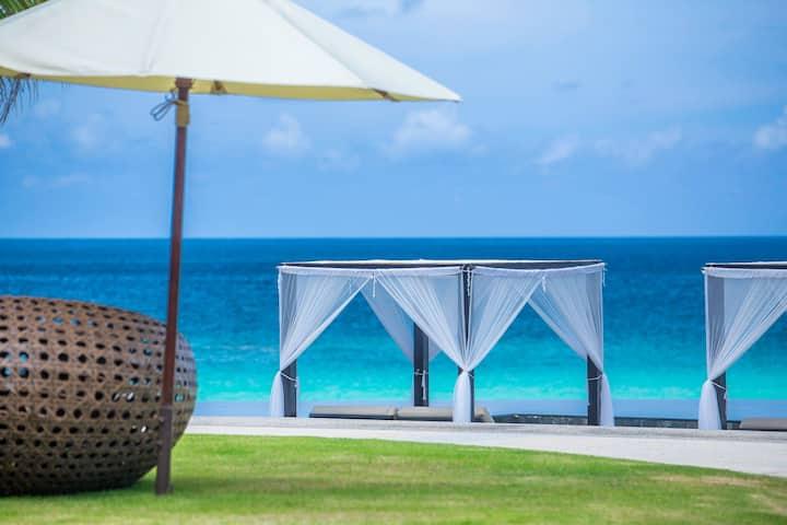 2 bedroom beachfront pool villa in Kata