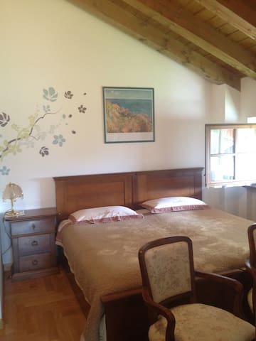 Bright and very spacious room with kingsize bed - Venas di Cadore - Villa