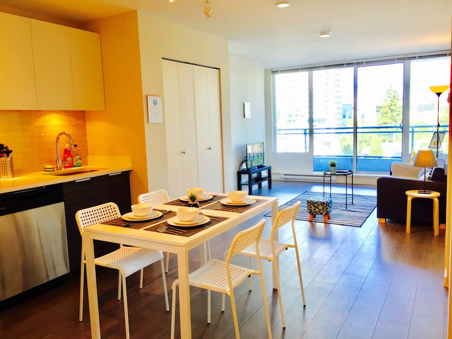Enjoy the spacious living space