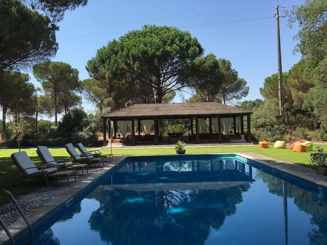 ALFANZINA - Country house with garden and pool