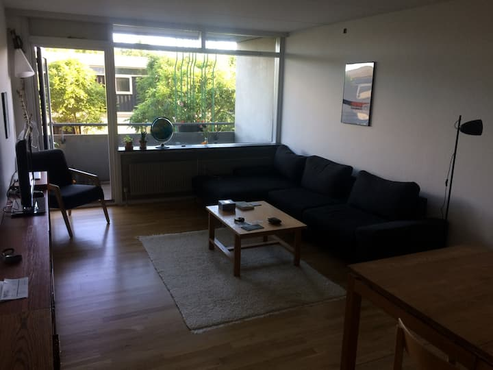 Quiet apartment next to Aarhus Botanical Gardens