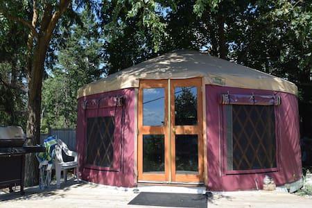 COZY YURT near Silver Star & Vernon - Vernon - Yurt