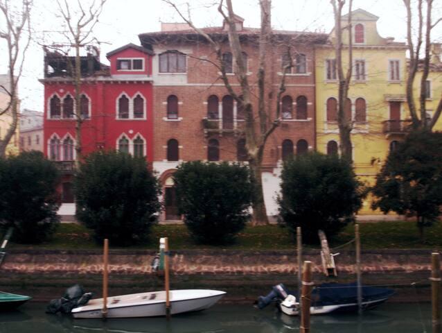 Casa d'epoca vicino ai giardini della biennale - Venedik - Daire