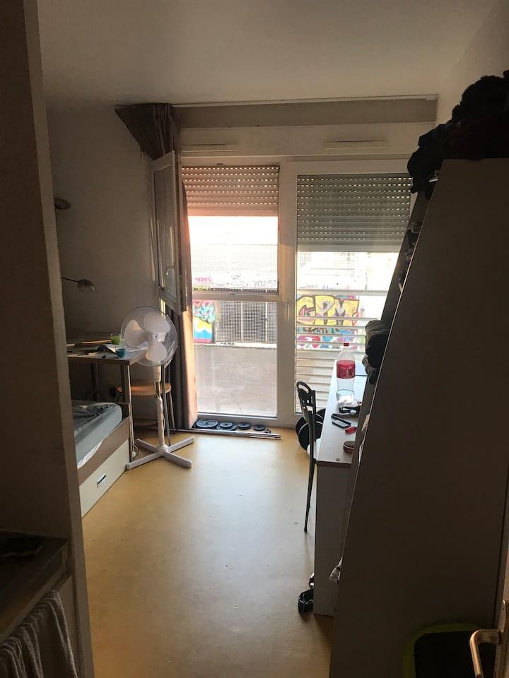 Appartement 19m2 Porte de Montreuil