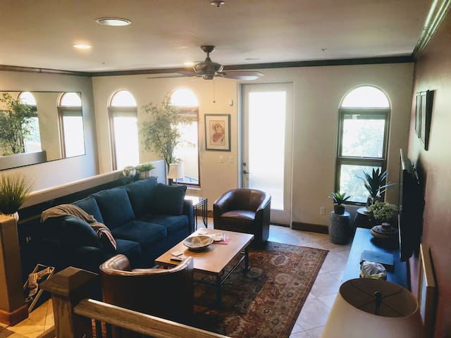 Foothills Town Home with Direct Riverwalk Access