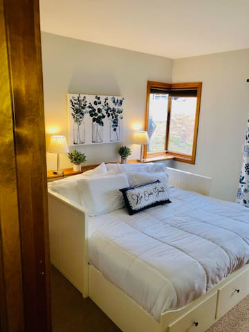 King Bed in one bedroom