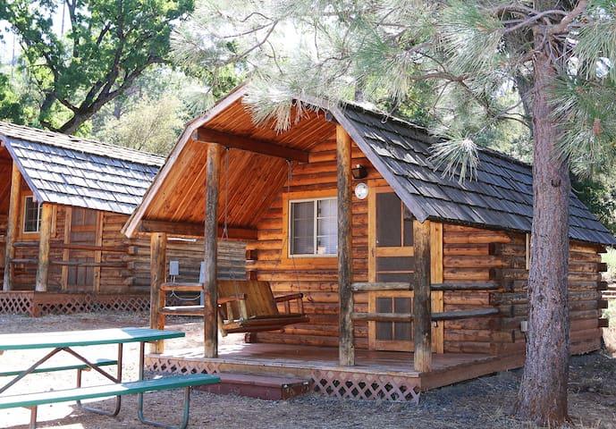 Yosemite Pines Resort 2 Room Cedar Cabin