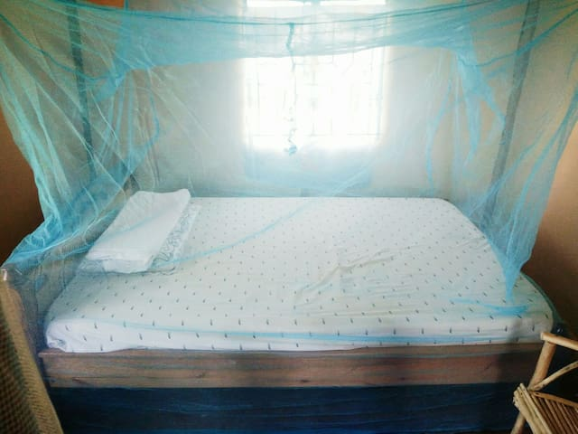 Double bed in Rusinga Island - Mbita - Hus