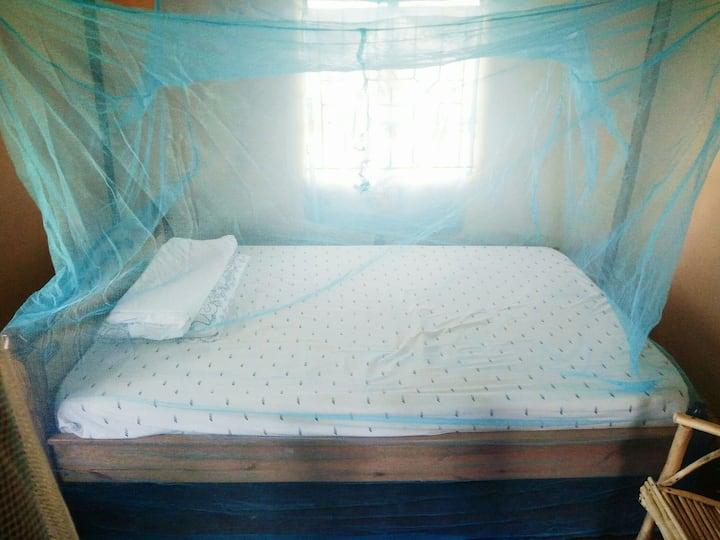 Double bed in Rusinga Island