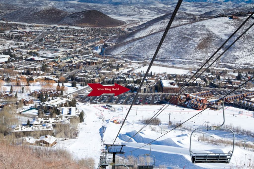 Conveniently located at the base of Park City Mountain Resort