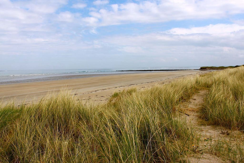 There are many sandy beaches close to Killala for swimming, sailing, surfing and other water sports