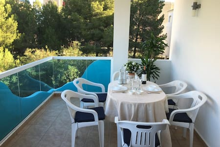 Jávea 2bedroom-beach1 min.walk+swimmingpool+wifi - Jávea - Daire