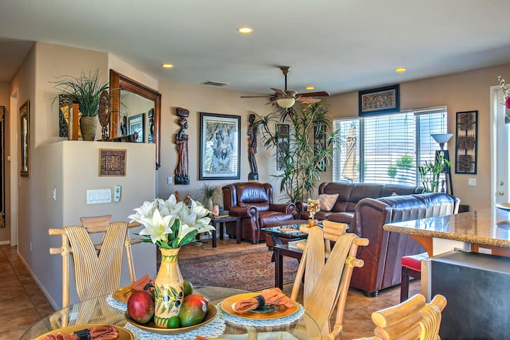 NEW! Desert Hot Springs Home w/Patio & Pool Access