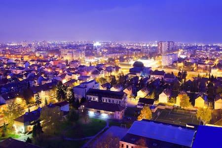 Panoramic view apartment  ☆☆☆☆☆ - Zagreb - Apartment