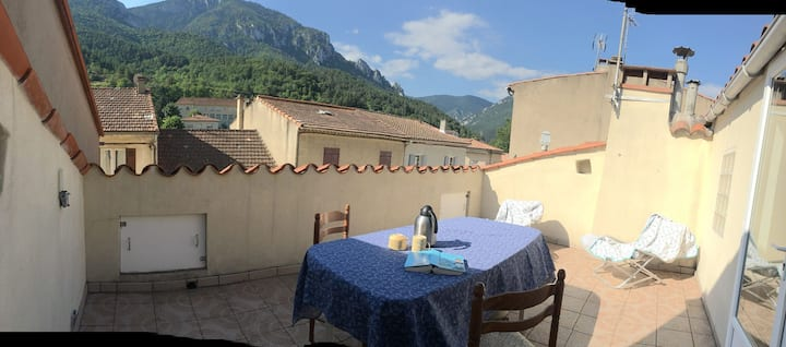 Southern French idyll with a wonderful view