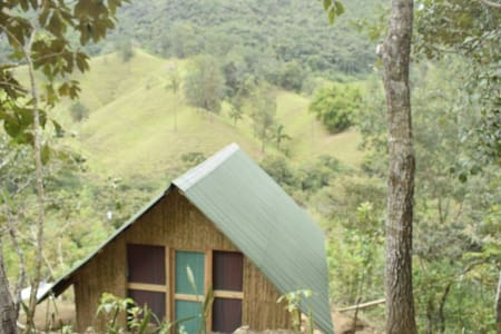 wooden cabin, stunning views  at Tuqtuquilal