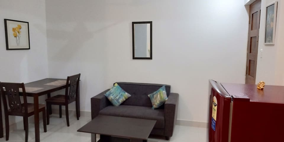 Dining Table, Sofa and Table
