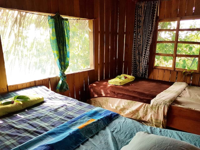 Twin room in treehouse - Yasur Backpackers
