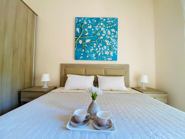 Almond Blossom Suite by the sea