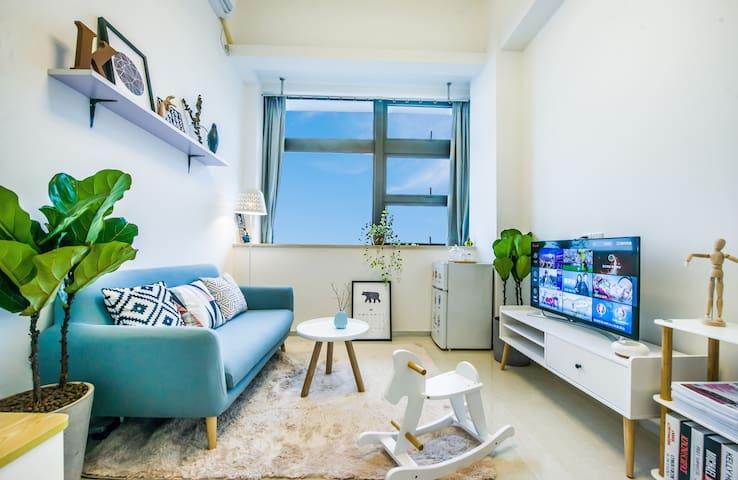厦门-Amoy假日 1号短租民宿公寓 BRT沿线复式 - Xiamen - Apartamento