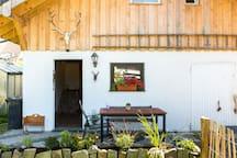 Kleines freistehendes Ferienhaus